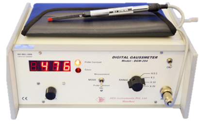 9. Digital Gauss Meter